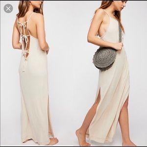 Free people beach maxi dress
